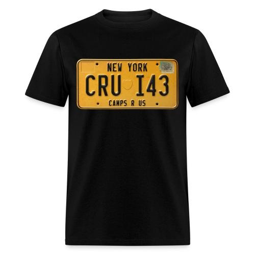 License Plate Tee - Men's T-Shirt