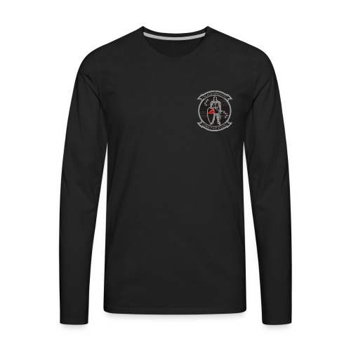 VFA-154 BLACK KNIGHTS LONG SLEEVE - Men's Premium Long Sleeve T-Shirt