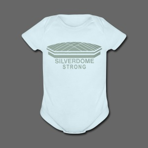 Silverdome Strong - Short Sleeve Baby Bodysuit