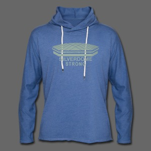 Silverdome Strong - Unisex Lightweight Terry Hoodie
