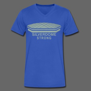 Silverdome Strong - Men's V-Neck T-Shirt by Canvas