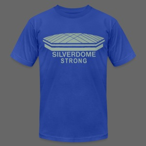 Silverdome Strong - Men's T-Shirt by American Apparel