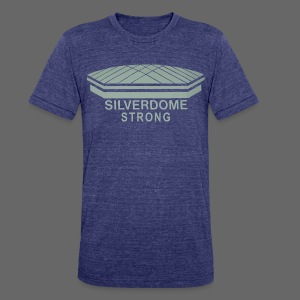 Silverdome Strong - Unisex Tri-Blend T-Shirt by American Apparel