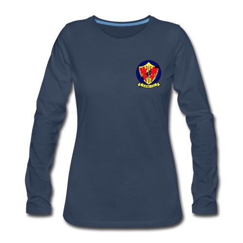 VAW-121 BLUETAILS WOMENS LONG SLEEVE - Women's Premium Long Sleeve T-Shirt