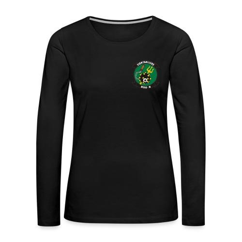 HSC-8 EIGHTBALLERS WOMENS LONG SLEEVE - Women's Premium Long Sleeve T-Shirt
