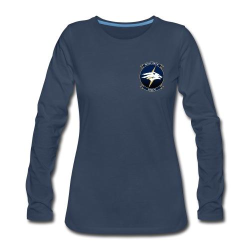 HSM-75 WOLF PACK WOMENS LONG SLEEVE - Women's Premium Long Sleeve T-Shirt