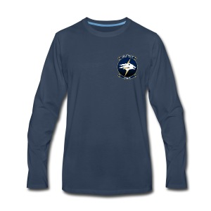 HSM-75 WOLF PACK LONG SLEEVE - Men's Premium Long Sleeve T-Shirt