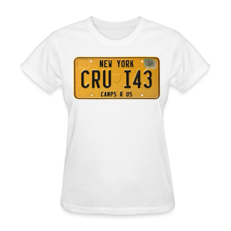 License Plate Tee - Women's T-Shirt