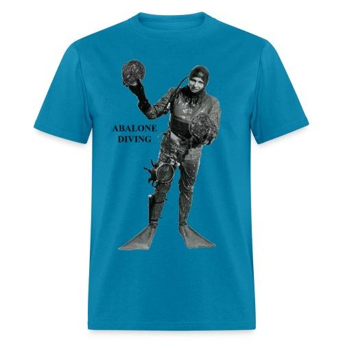 Vintage Commercial Abalone Diver - Men's T-Shirt