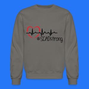 Men's Crewneck Sweatshirt #SCADstrong - Crewneck Sweatshirt