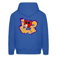 Hoodies ~ Men's Hoodie ~ I Love To Party. TM  mens hoodie