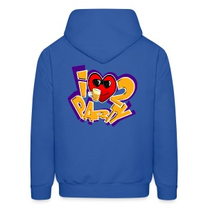 I Love To Party. TM  mens hoodie - Men's Hoodie