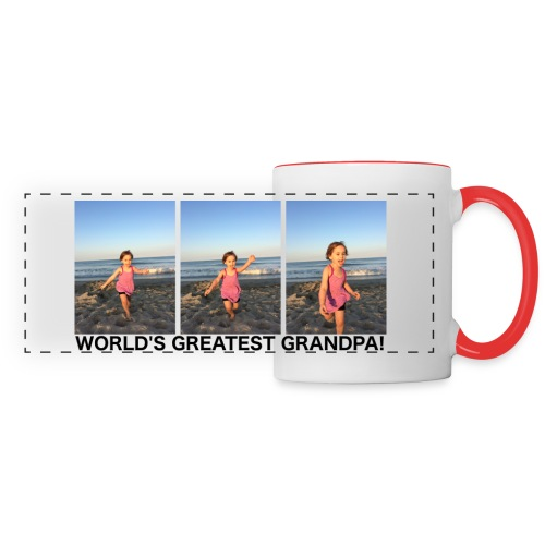 Worlds Greatest Grandpa - Panoramic Mug
