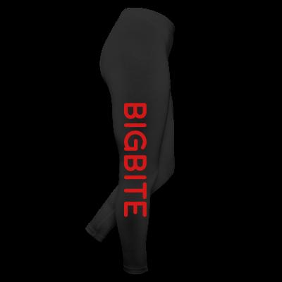 BIGBITE Red Women's Leggings - Leggings