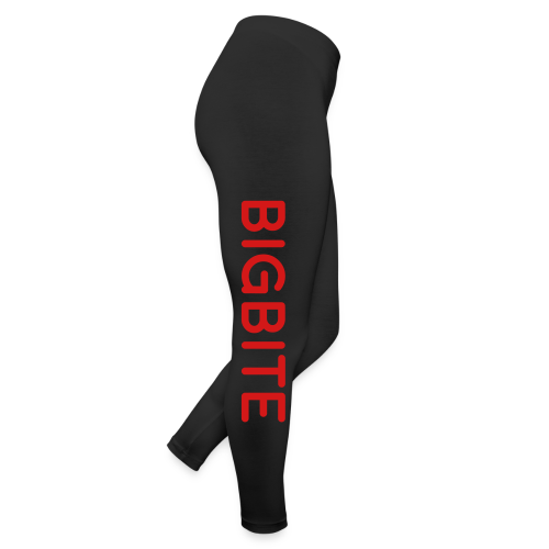 BIGBITE Red Women's Leggings - Leggings