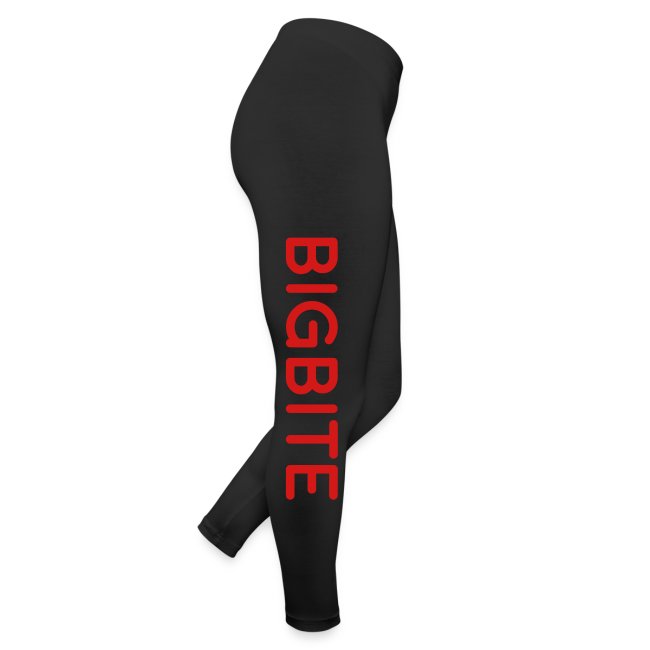 BIGBITE Red Women's Leggings