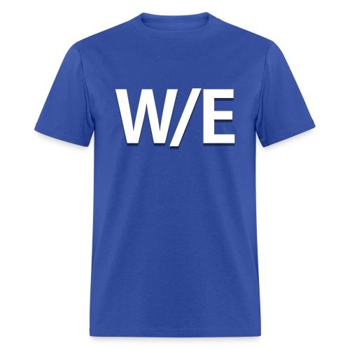 W/E Company Logo - T-shirt (Dark Blue) - Men's T-Shirt