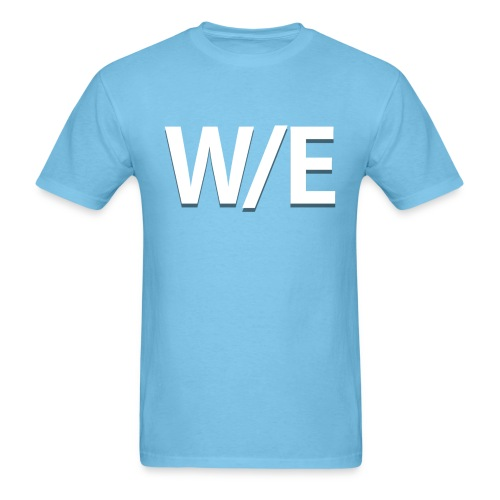 W/E Company Logo - T-shirt (Light Blue) - Men's T-Shirt