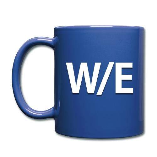 W/E Company Logo - Coffee Mug (Blue) - Full Color Mug