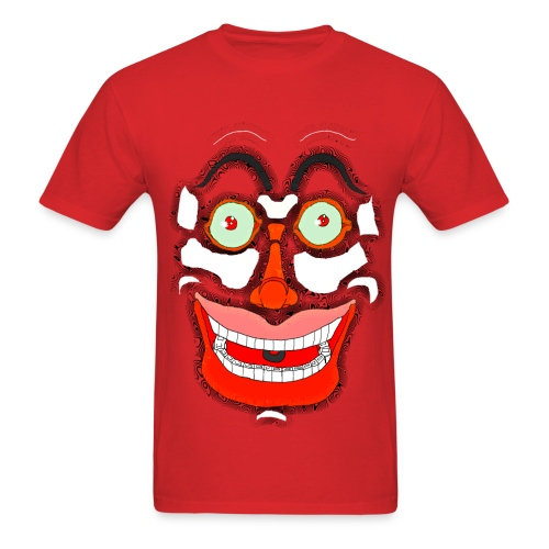 Scary Face  - Men's T-Shirt