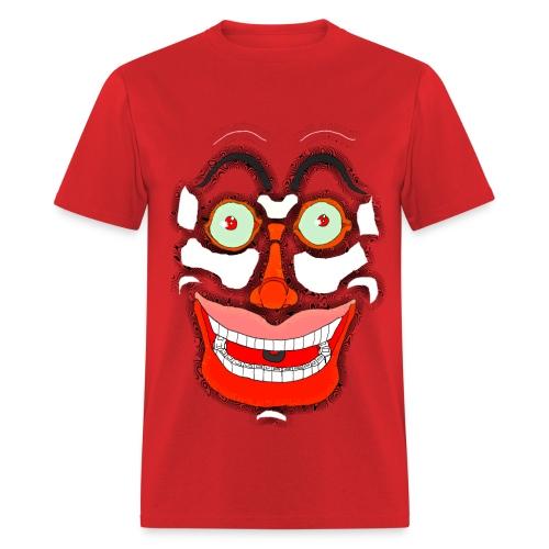 Scary Face  - Men's T-Shirt