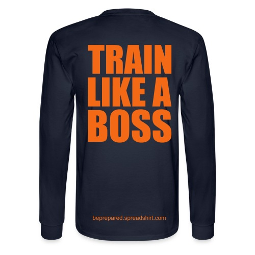 Like A Boss - Men's Long Sleeve T-Shirt