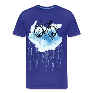 Watercolor bicycle Premium T-Shirt - Men's Premium T-Shirt