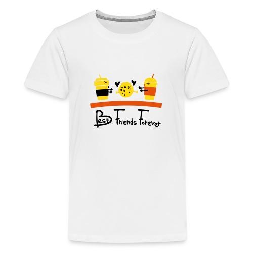 BFF COOKIE WITH DRINK Premium T-Shirt - Kids' Premium T-Shirt