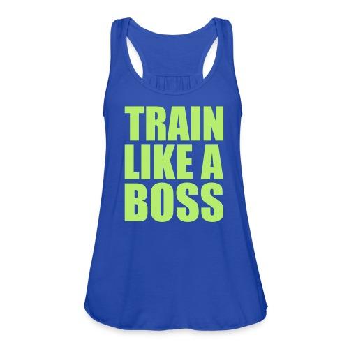 Like A Boss - Women's Flowy Tank Top by Bella