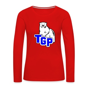 TGP MOM - BRIT - Women's Premium Long Sleeve T-Shirt