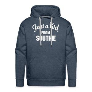 Just a Kid from Southie (Mens Sweatshirt) - Men's Premium Hoodie