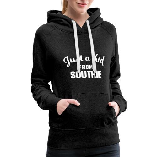 Just a Kid from Southie (Womens Sweatshirt) - Women's Premium Hoodie