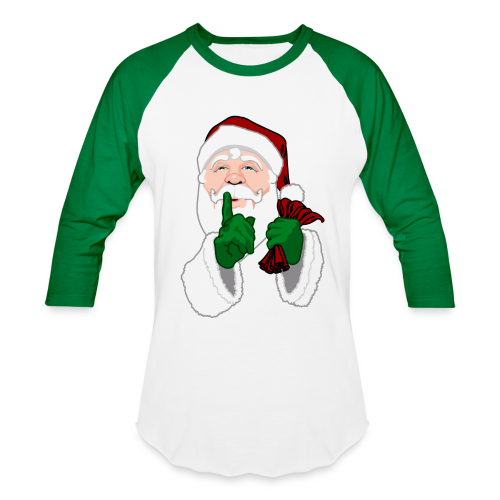 Santa Clause Shirt Men's Christmas Shirts - Baseball T-Shirt