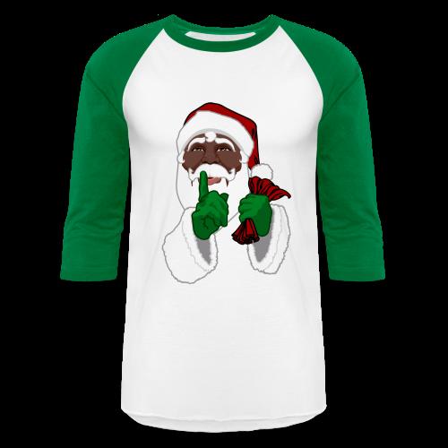 African Santa Clause Jersey Men's Christmas Shirts - Baseball T-Shirt