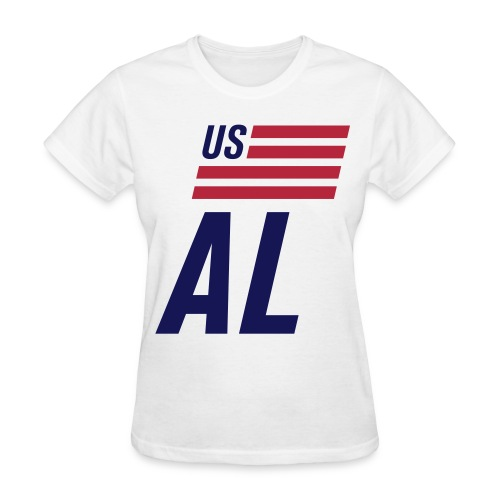 US flag Alabama - Women's T-Shirt