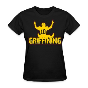 Griffining Shirt on Black Womens - Women's T-Shirt