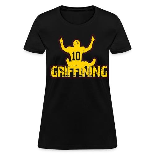 Griffining Shirt on Black Womens - Women's T-Shirt