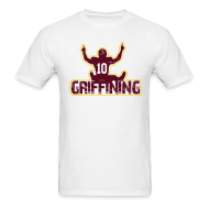 T-Shirts ~ Men's T-Shirt ~ Griffining Shirt on White