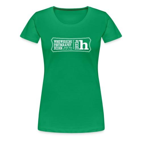 little h logo - women's - Women's Premium T-Shirt