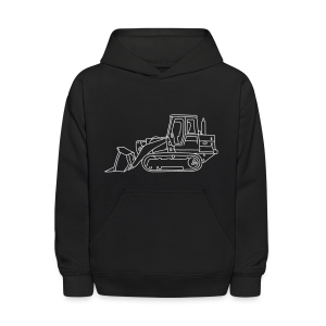 Bulldozer - Kids' Hoodie
