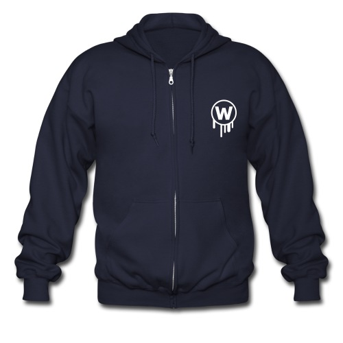 Wake Men's Zip-up Hoddie - Men's Zip Hoodie