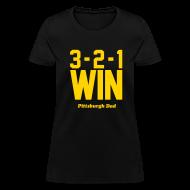 T-Shirts ~ Women's T-Shirt ~ 3-2-1 WIN Womens T-Shirt