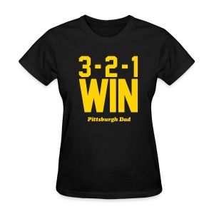 3-2-1 WIN Womens T-Shirt - Women's T-Shirt