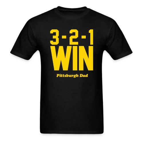 3-2-1 WIN T-Shirt - Men's T-Shirt