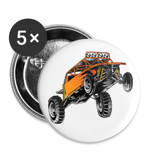 Dune Buggy Stunt - Buttons small 1'' (5-pack)
