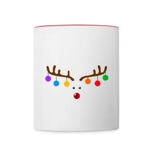 Funny Christmas Reindeer Antlers With Bulbs