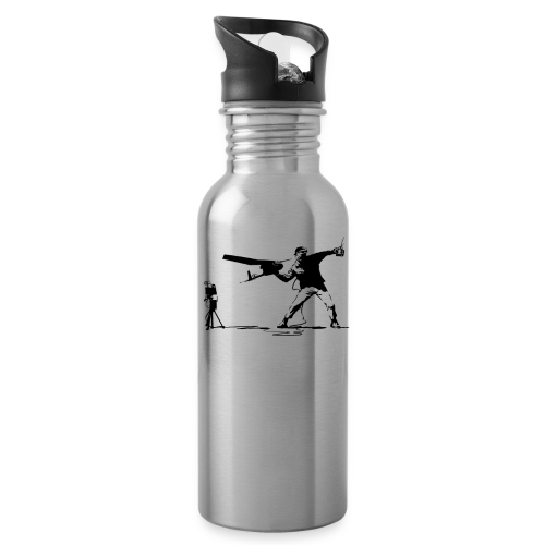 Yank and Banksy Bottle - Water Bottle