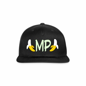 Monkey Pickles MP Double Banana Glow-in-the-dark Hat - Snap-back Baseball Cap