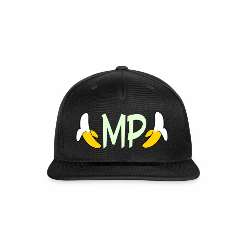Monkey Pickles MP Double Banana Glow-in-the-dark Hat - Snap-back Baseball Cap