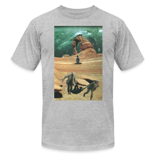 Space Fishing Men's - Men's Fine Jersey T-Shirt